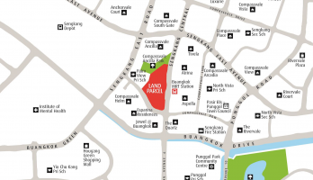 Sengkang Grand Residences Location