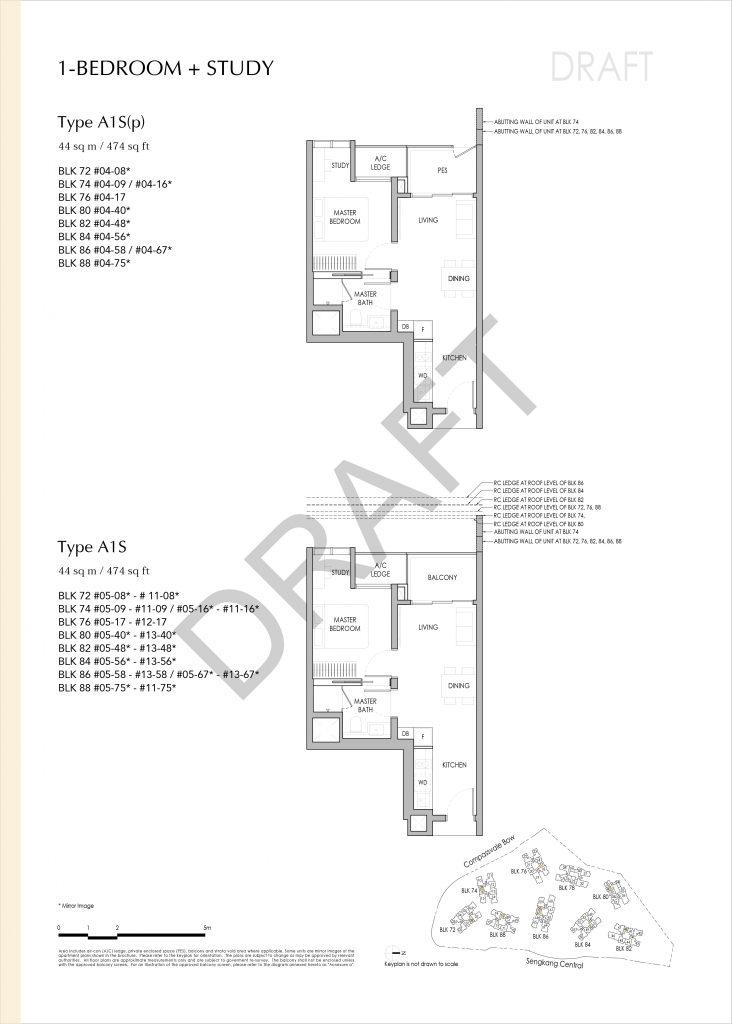 Sengkang Grand Residences Floor Plan Showflat Hotline 61007757