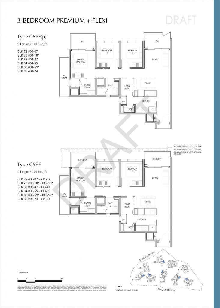 Seng Kang Grand Floor Plan