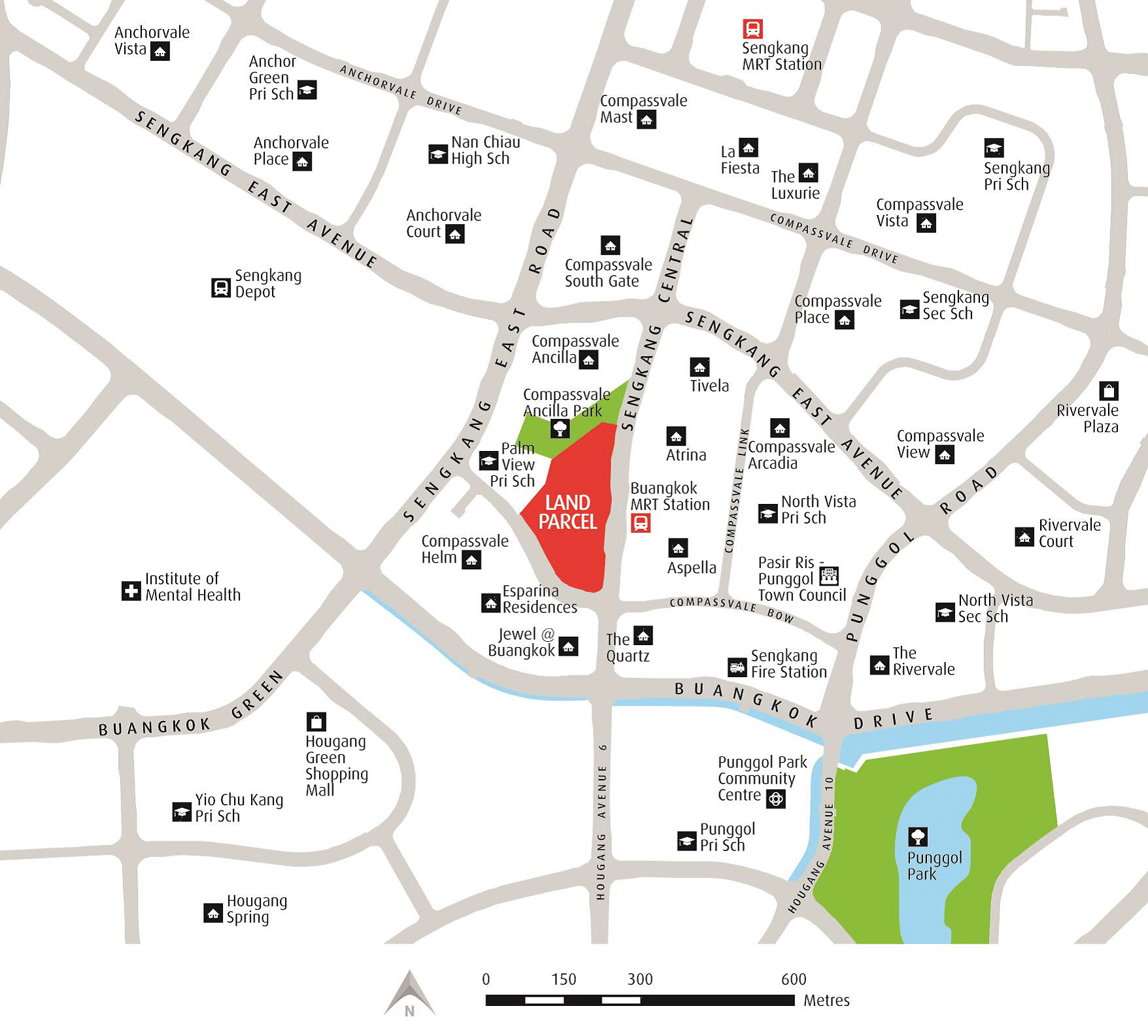 Sengkang Grand Residences Location