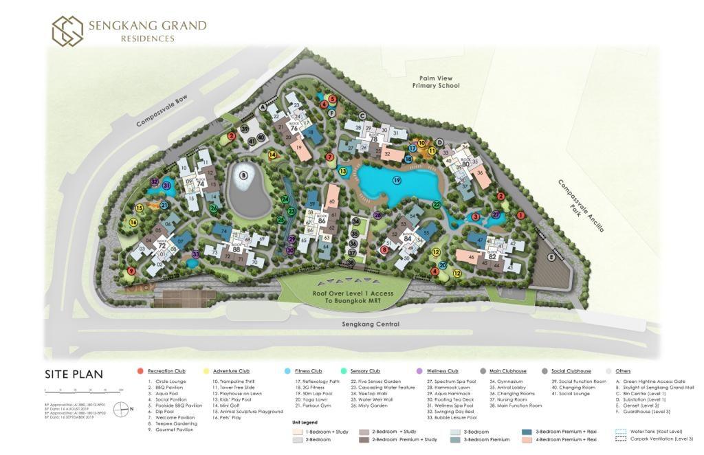 Sengkang Grand Site Plan