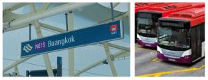 Buangkok MRT and Bus Interchange are part of Sengkang Grand Residences connectivity